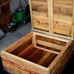 Diy Pallet Rocking Chair Plans Japanese Office Vintage Coffee Table With Secret Stash | Furniture