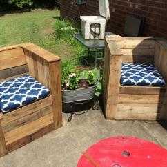 Diy Patio Chairs Poang Chair Pallet For Outdoor Furniture Plans Beefy Cushioned