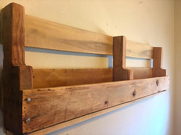 hanging chair no stand cheap covers ebay diy pallet wall decorative shelf | furniture plans