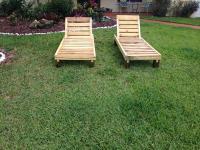 DIY Pallet Lounge Chair | Pallet Furniture Plans