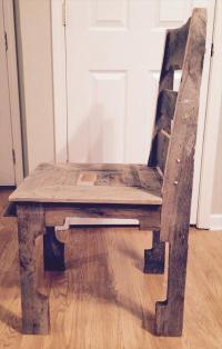 DIY Pallet Dining Chair | Pallet Furniture Plans