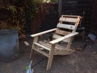 Pallet Rustic Adirondack Chairs | Pallet Furniture Plans