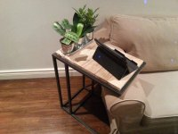 DIY Wood Pallet Laptop Side Table | Pallet Furniture Plans