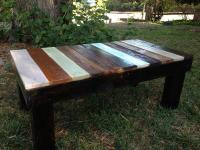Inspire Rustic Pallet Coffee Table | Pallet Furniture Plans