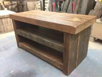 Diy Pallet Media Console Table