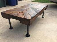 Diy Wood Coffee Table With Pipe Legs - diy pipe coffee ...