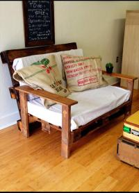 DIY Wood Pallet Couch | Pallet Furniture Plans