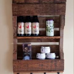 Hanging Chair Stand Accessories For Lower Back Pain Pallet Kitchen Organizer / Tea Rack | Furniture Plans
