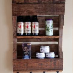 Hanging Chair Range Levon Showood Accent Pallet Kitchen Organizer / Tea Rack | Furniture Plans