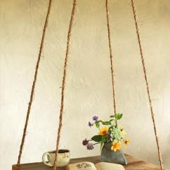 Rope Chair Swing Stand Wooden Outdoor Lounge Plans Pallet Hanging Hammock Table | Furniture