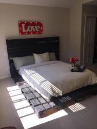 Pallet Platform Bed | Pallet Furniture Plans