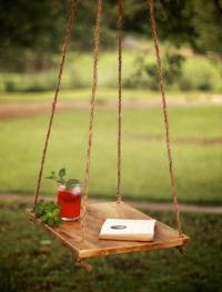 Pallet Hanging Hammock Table | Pallet Furniture Plans
