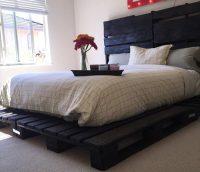 Pallet Bed | Pallet Furniture Plans