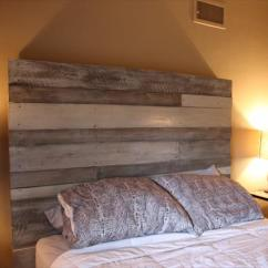 Grey And White Accent Chair Recliner Chairs Canada Diy Pallet Headboard | Furniture Plans