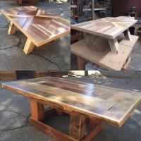 Pallet Coffee Table with Versatile Base | Pallet Furniture ...