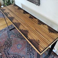 Wood Patio Chair Plans Cover Rentals Washington Dc Diy Pallet Aztec Console Table | Furniture