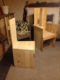 Pallet Kitchen Chair / Dining Chair