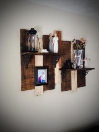 DIY Upcycled Pallet Shelf Idea | Pallet Furniture Plans
