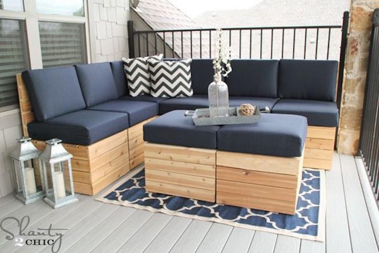 Pallet Corner Sofa Plans