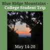 Blue Ridge College Trip