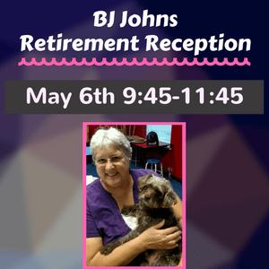BJ Johns Retirement Reception 2018 May