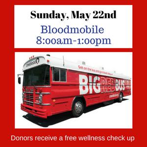 Bloodmobile at PCPC