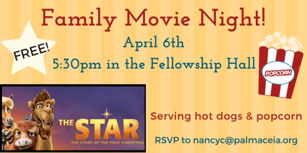 Family Movie Night at PCPC