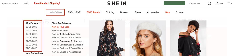 SheIn New Arrivals