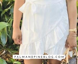 Forever 21_White_Wrap_Dress