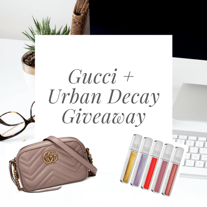 gucci+urbandecay giveaway