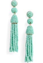 Bauble Bar Granita Beaded Tassel Earrings