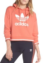 Adidas Active Icons Cropped Hoodie