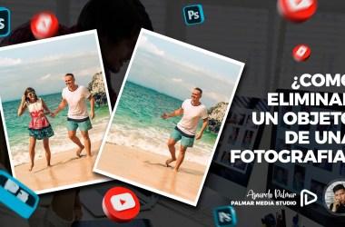 Cómo eliminar un objeto o una persona de una fotografía en Photoshop con Pincel Corrector Puntual