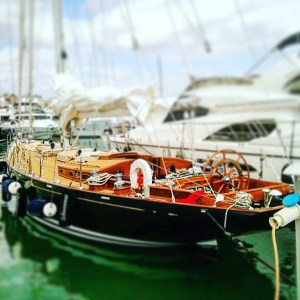Barniz perfecto en mi barco