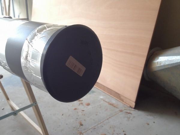 Detalle De tapon para Tubo PVC