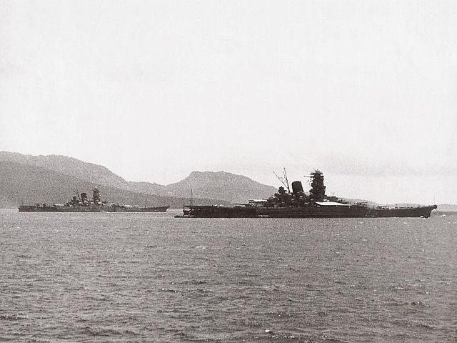 el pecio mushashi YamatoClassBattleships