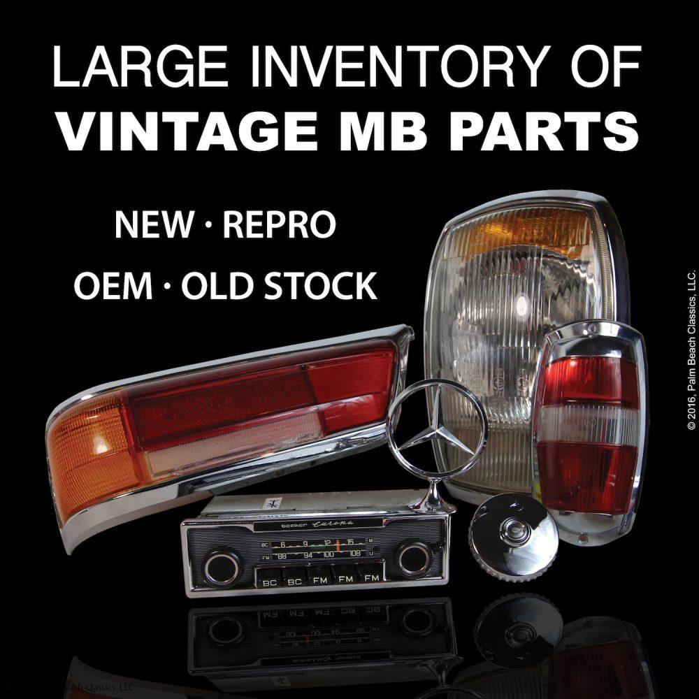 Parts Large Selection Of Vintage Mercedes Benz Parts