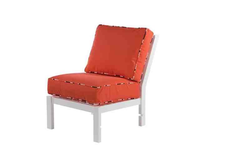 Sanibel Deep Seating Armless Lounge Chair