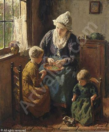 pothast-bernard-1882-1966-nld-mother-s-little-helpers-1404318