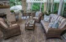 Outdoor Living Space Winter-ready - Palm Casual
