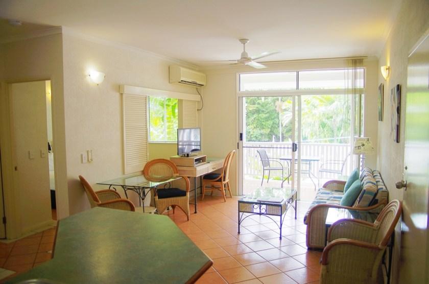 1 Bedroom Apartment Living Area