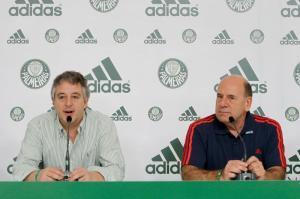 Paulo Nobre e Brunoro falam sobre patrocínio. Fonte: GE.Net