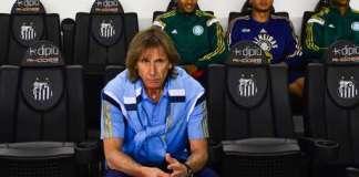 Gareca desanima ao ver Palmeiras em campo na Vila.