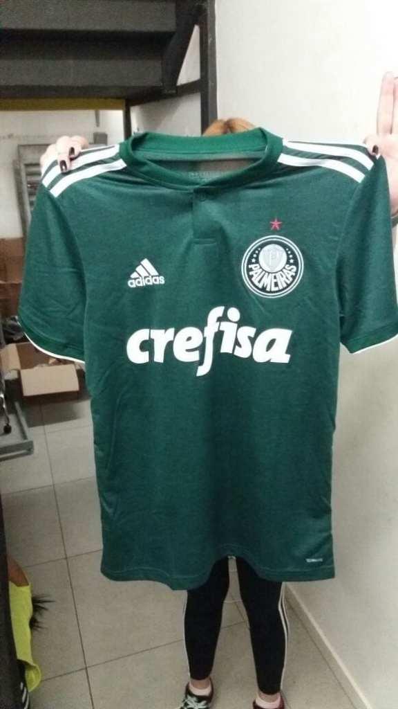 Suposta camisa do Palmeiras vazou na internet. Veja