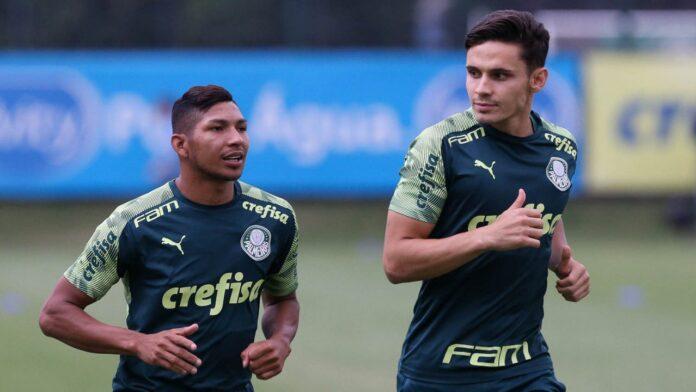 Raphael Veiga renews with Palmeiras