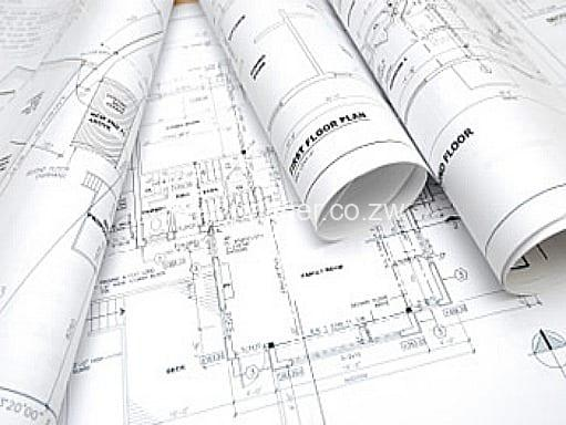 architectural plan drawings palmer civil contractors Zimbabwe