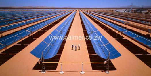 Multi million dollar solar power project sample palmer electrical engineers Zimbabwe