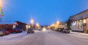Downtown Palmer Alaska