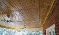 Screened Porch Ceiling Repairs