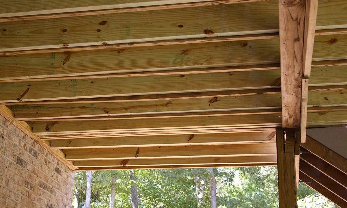 Structural Repair and Deck Framing  Home Repairs